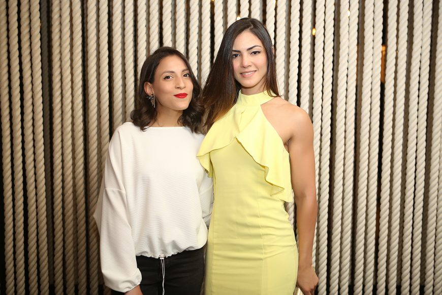 Carina Cairo y Jadhira Santana
