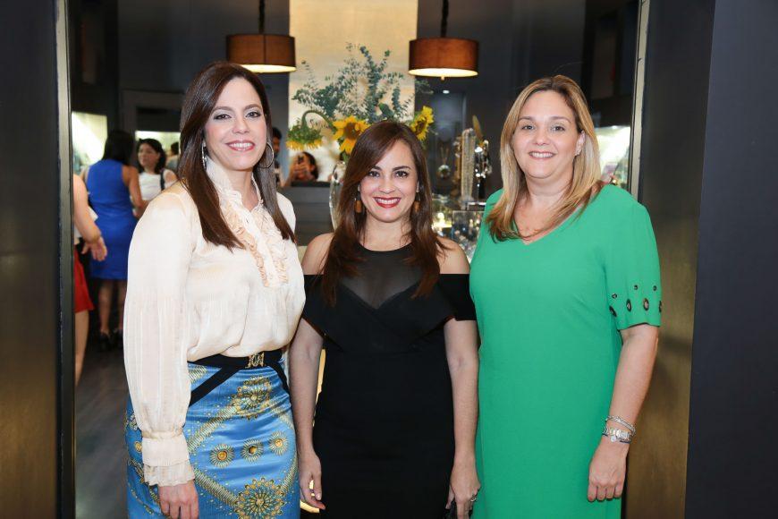 Dalia Sued, Laura PenŽa y Paola Pimentel