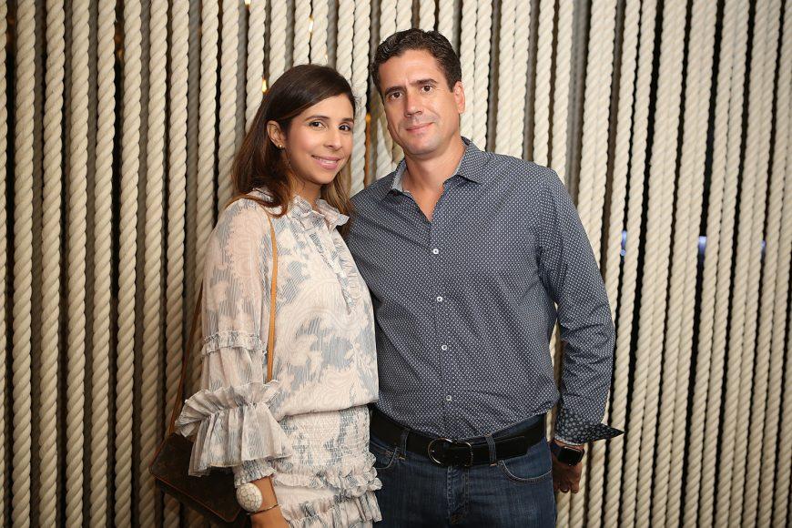 Ginna Pannoccia y Carlos Manzano