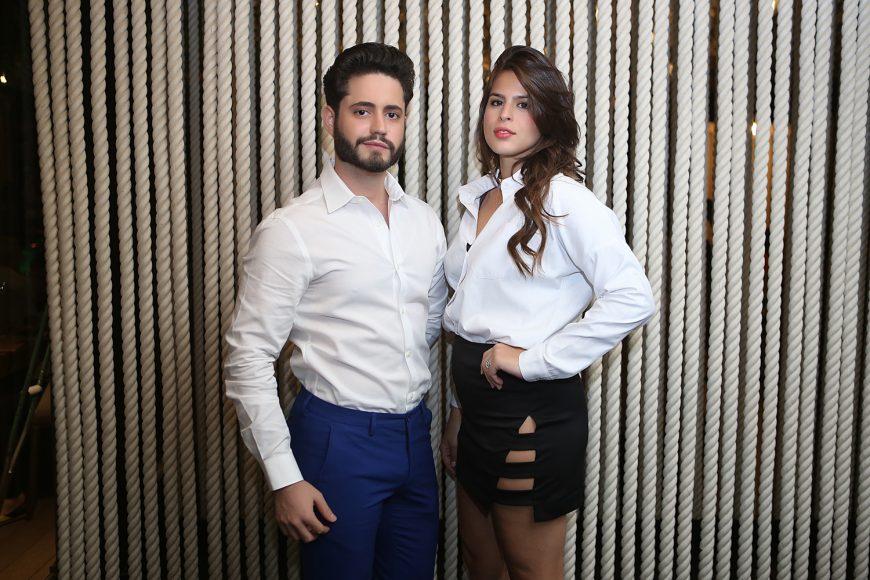 Jusef Sánchez y Graciella Dietsch