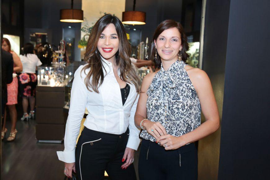 Luz Garciìa y Evelyn Fernaìndez