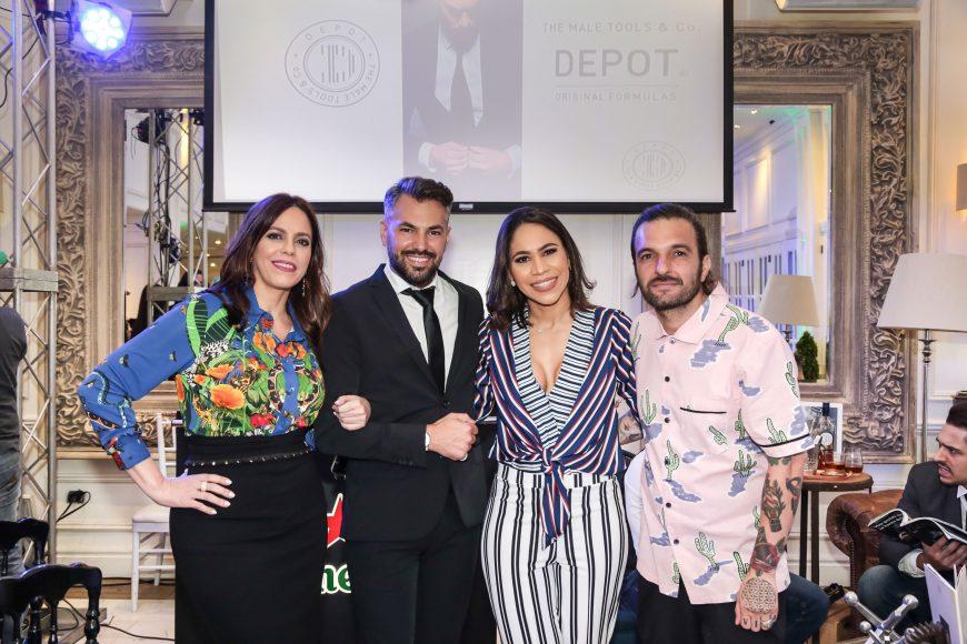 PRINCIPAL Dalia Sued,Carlos Loìpez, Luisa Apolinar y Alberto Coìrdoba.