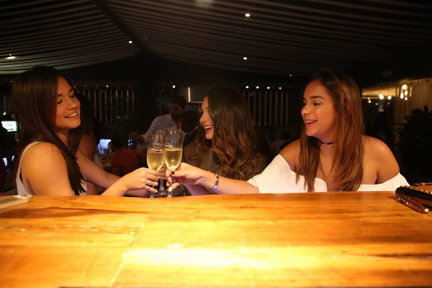 Sarah Lembert, Isabella D'Alessandro y Ximena Castillo