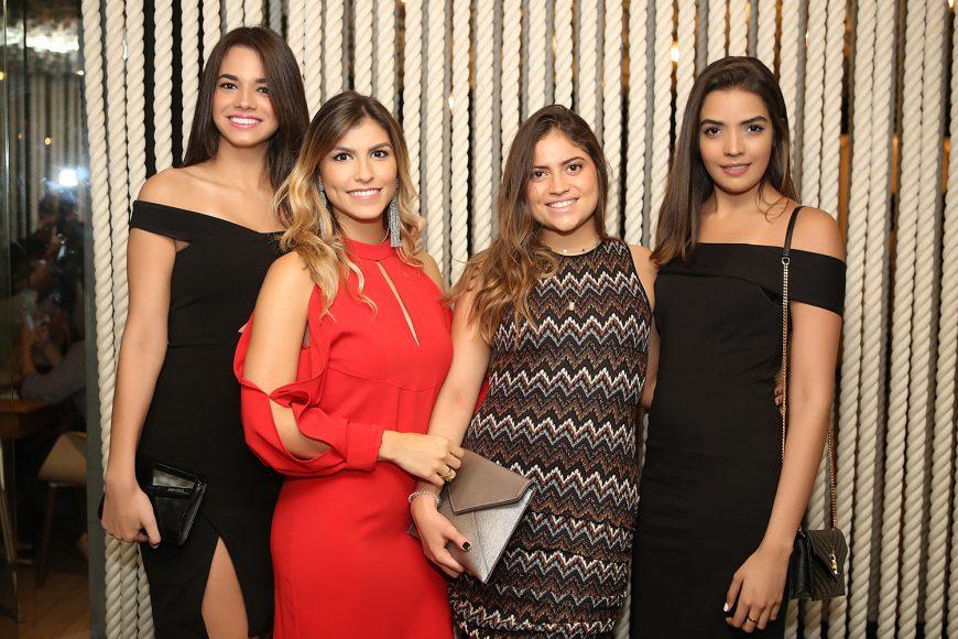 Sarah Yunen, Alexandra Faya, Monica de Moya y Ambar Beltre