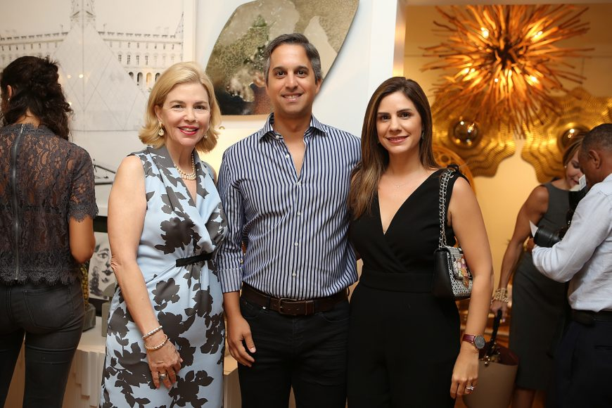 12. Susana Caro, Luis Bonetti y Cristina Roig