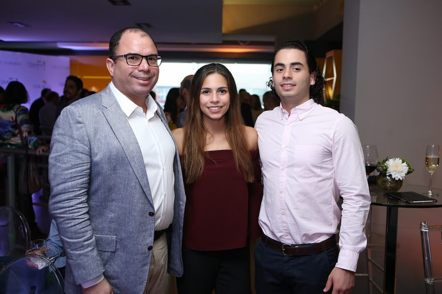 13. Frank Pichardo, María José Pichardo y Francisco Pichardo