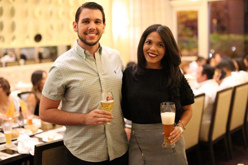 18 Juan Luis Minaya y Carolina Torres