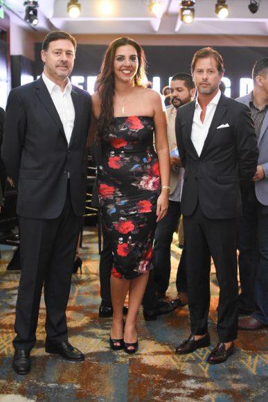19. José Nascimento, Karen Alamo y Bruno Cid