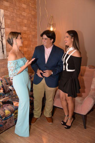 2 ( Principal) Paola Johnson, Fredddy Johnson y Paola Alcantara