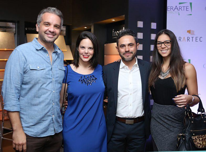 2. Dante Luna, Rita García, John Zuleta y María Isabel Pérez