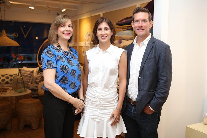 2. Jeannette Sánchez de Martínez, Laura Betances y Vincent Carlson