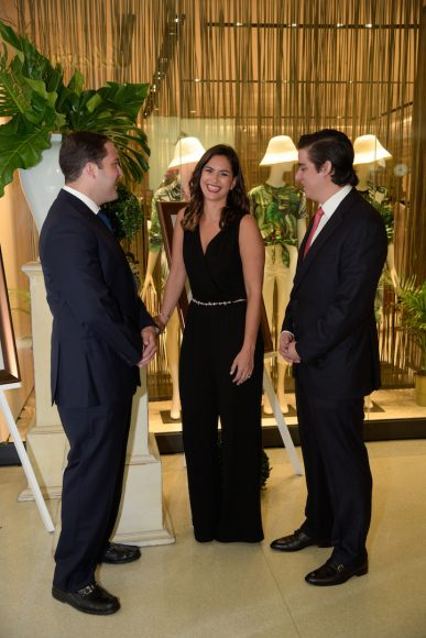 3 Principal Gustavo Rivas, Karla Lubrano y Manuel Higuera