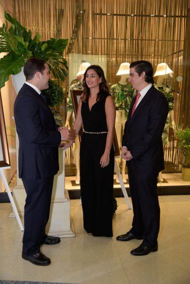 4 Principal Gustavo Rivas, Karla Lubrano y Manuel Higuera