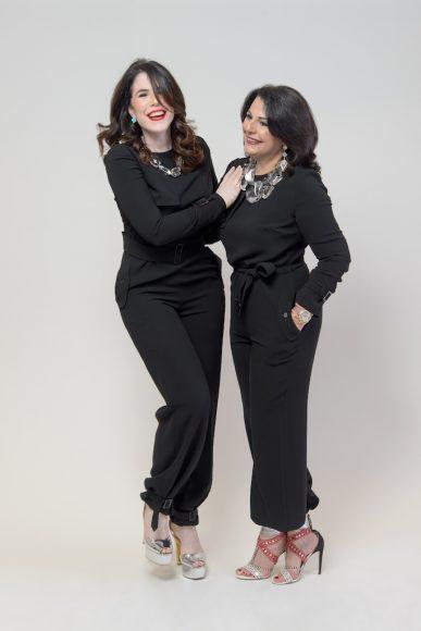 Dianne Bisonó y Chabela Estrella de Bisonó
