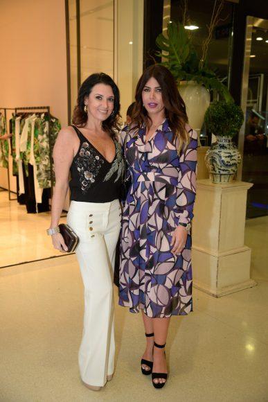 Jessica Rodríguez y Judy Dorrejo de Inchaustegui
