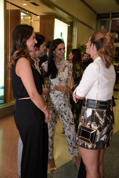 Karla Lubrano, Atenas Hernández y Ximena Castillo