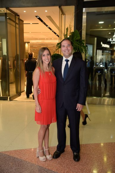 Katherine Cibal y Gustavo Rivas