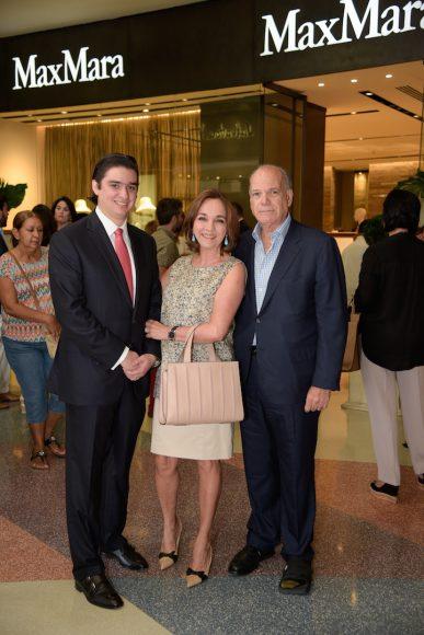 Manuel Higuera, Olga y Luis Emilio Velutini