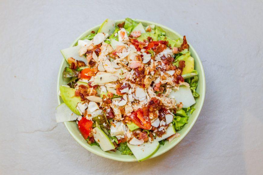 1. Chickapple Salad