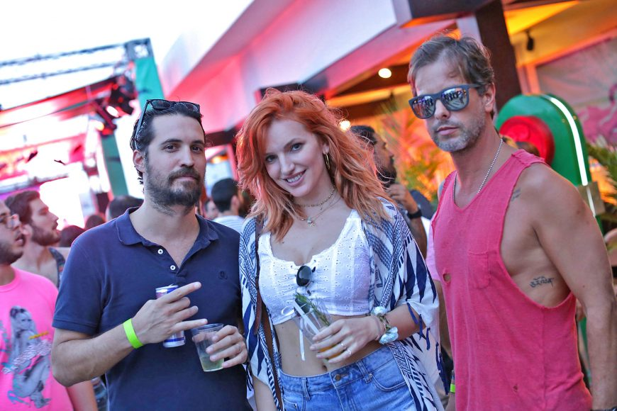 1. Itay Mishal, Marija Micunovic y Bruno Cid