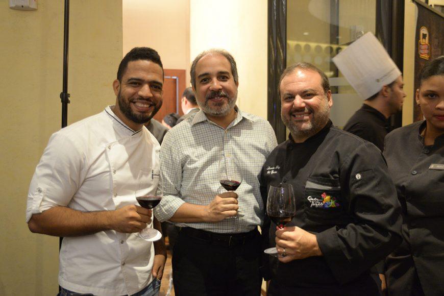 10.Chef Manuel Mendez, Miguel Mejias, y Chef Leandro Díaz