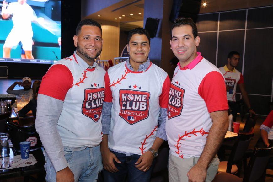 3. Leandro Joaquín, Felix Molina y Francisco Rodríguez