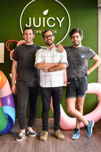 4. Juan Luis Minaya, Paul Alfonso y Omar Attias