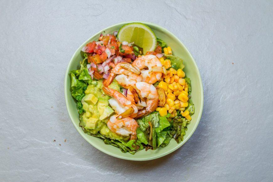 4. Orale Shrimp Salad