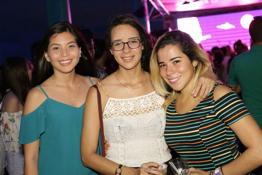 5. Mariale Gutierrez, Massiel Feliz y Katerina Barros