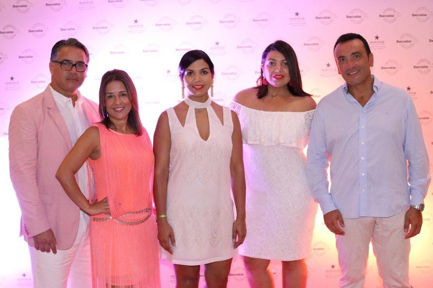 6 Luis Beltre, Johanmely Peralta, Chef Tita, Angely Paez y Adolfo Avella