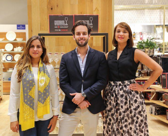 6. Nicole Castillo, Stefano Cavoli y Luz Grullón