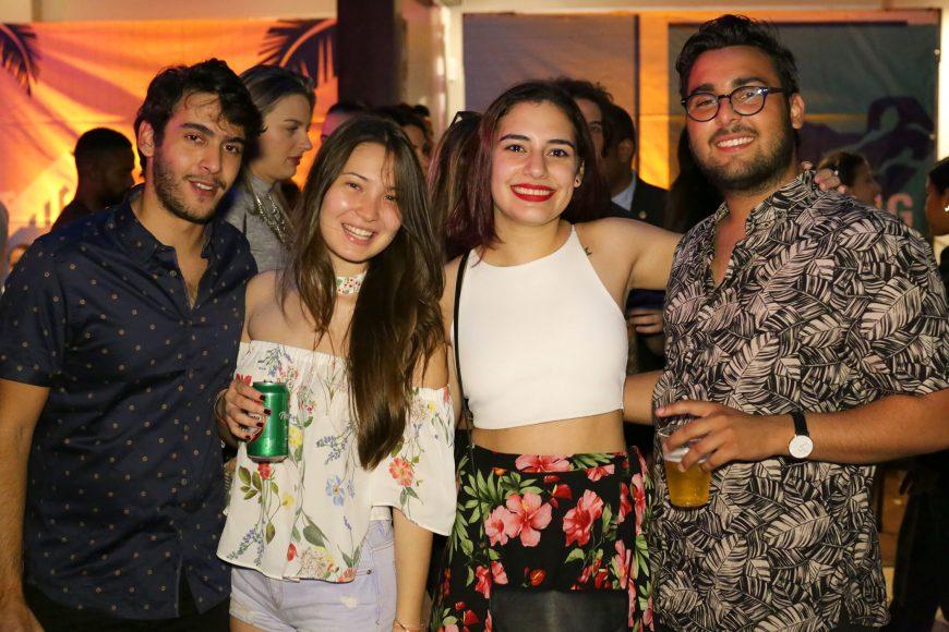 8. Agustin Ricart, Jade Pezat, Nazzira Abrales y José Rafael Ramírez