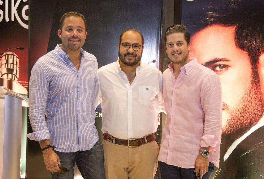 Antonio Pérez, Daniel Ovalles, Julian Guzmán