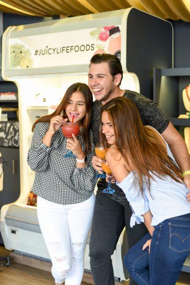Arlynne Medina, Juan Luis Minaya y Mabel Velazquez