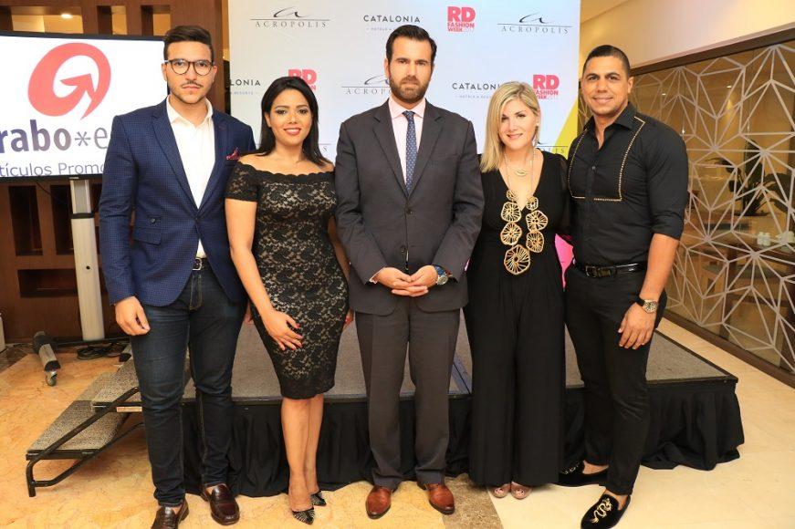 Cristian Lagares JR, Danissa Cruz, José Maria Fernández, Vero Rahn y Wilson Alcequiez