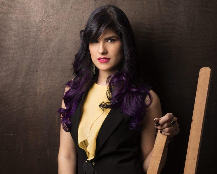 La artista emergente Pamela Rivera expondrá en District Co. The Gallery