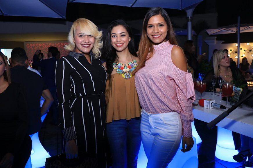 Laura Hernández, Nelkis Mejía y Jenniffer Peña