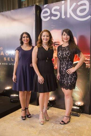 Principal 1. Shantalle Houellemont, Ingrid Isidor,Laura Peña