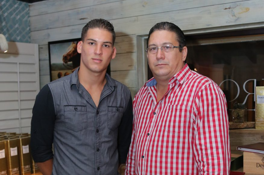 5. Arnaldo Bertoli hijo y Arnaldo Bertoli padre
