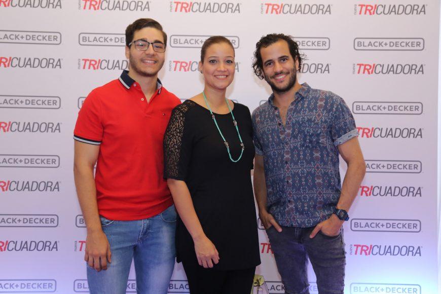 6. Edmundo Houellemonto, Oscarina Grullon y Johnny Martínez