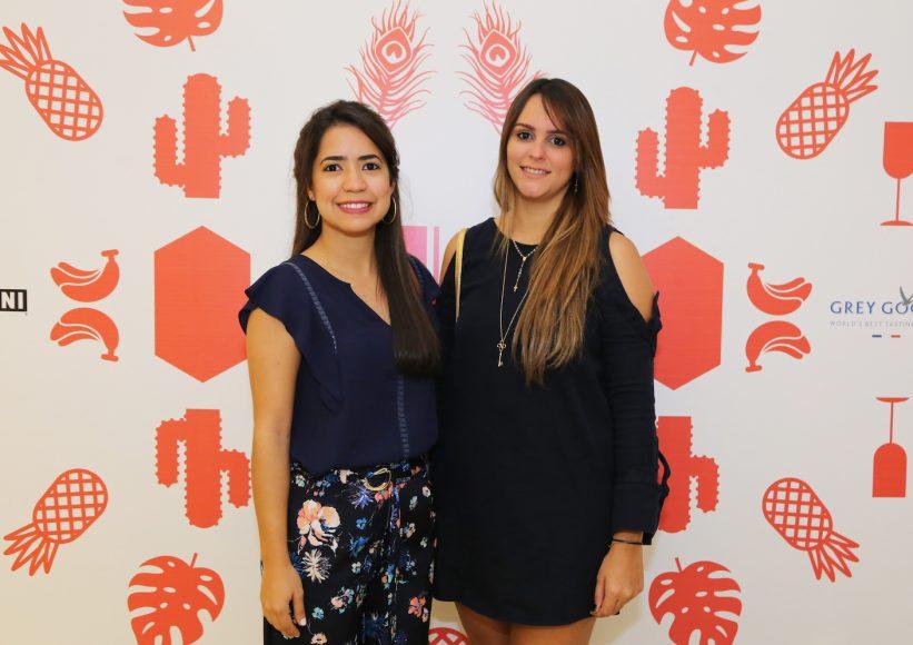 6. Lisbeth Borrelly y María González