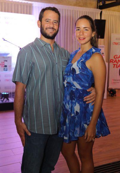 7. Samuel De Lara y Paola Pérez