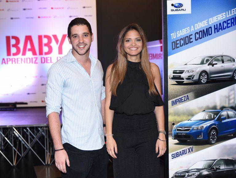 Javier Sabater y Astrid Feliciano.