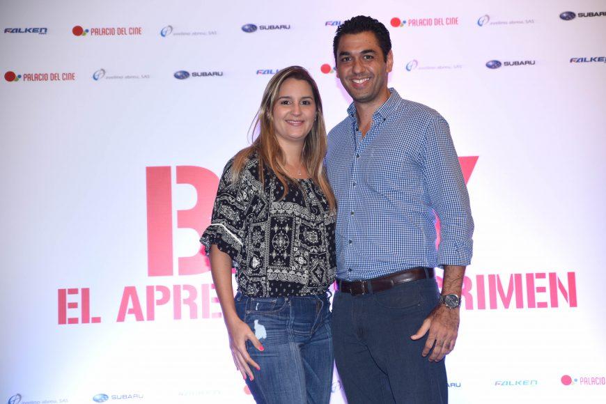 Liza Rijo y Mario Almonte.