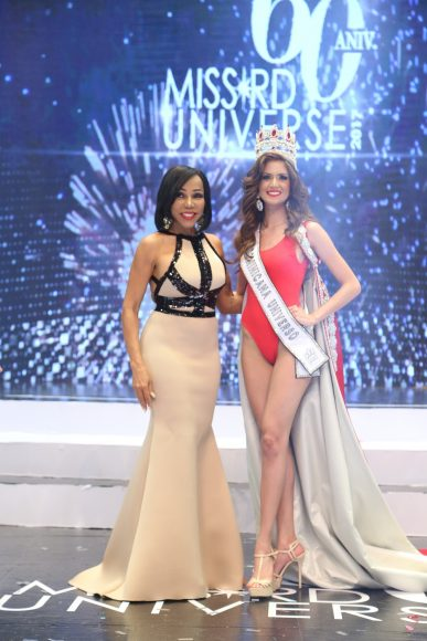 Magali Febles y Miss Republica Dominicana Carmen Muñoz 1