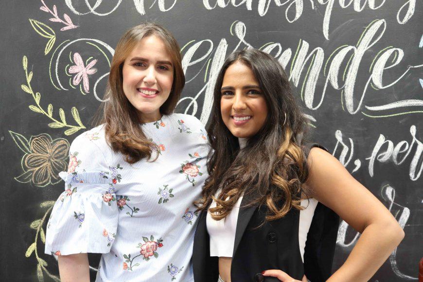 1. Arlette Hawa y Paloma de la Cruz
