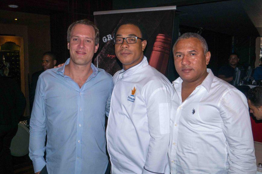 11.Andreas Schandl, Manuel Medina, Julio César Mercedes