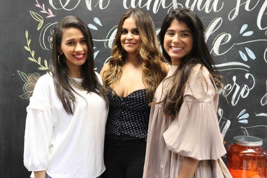 2. Nashelyne Gil, Anamia Abreu y Katherine Medina