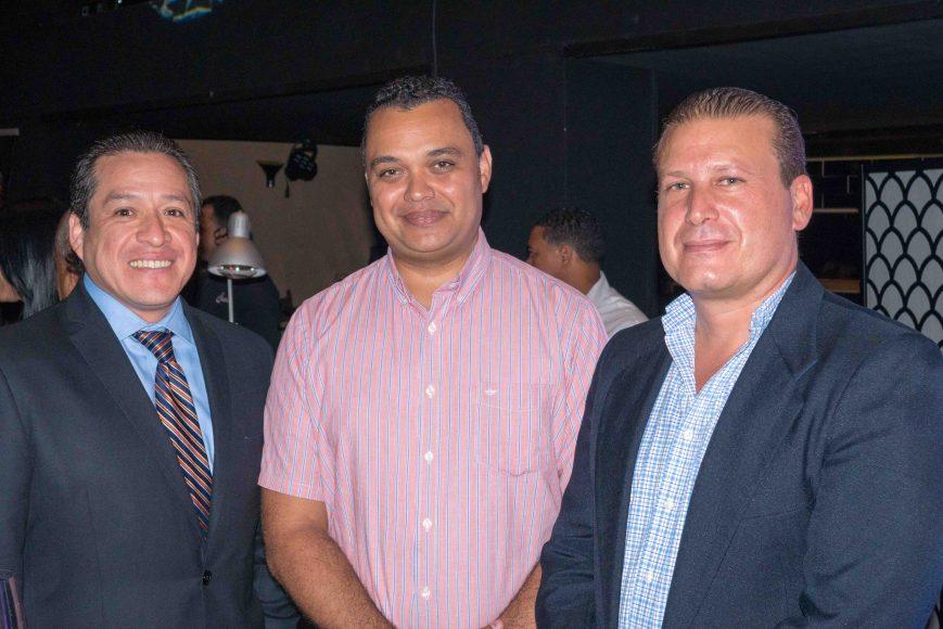 3.Òscar Orbe, Jesús Camacaro, Giancarlo Bonarelli