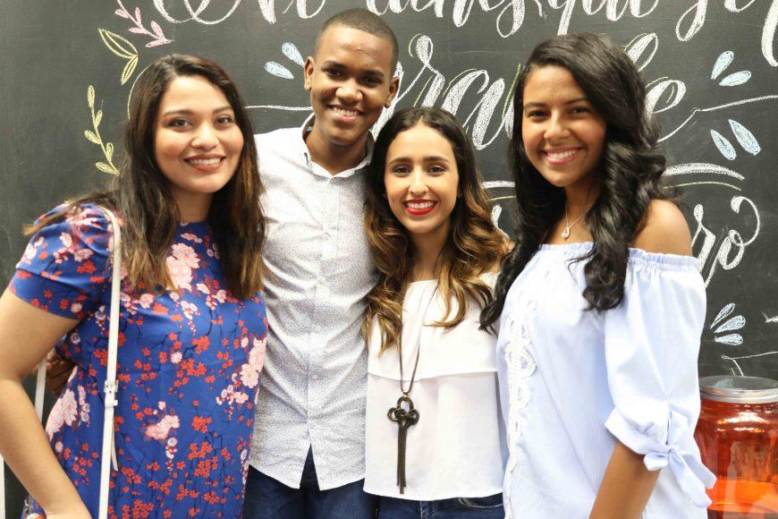 3. Paola Rossi, Bryan Alfonso, Celia Gil Prieto, Noelia Guzmán